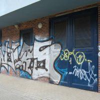 01-Graffiti-von-Klinker-entfernen-Rostock-Farbanstrich-erneuert