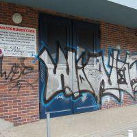 02-Graffiti-von-Klinker-entfernen-Rostock-Farbanstrich-erneuert