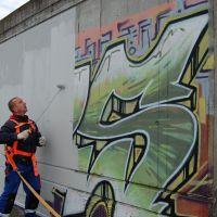 08-Graffiti-von-Klinker-entfernt-Rostock-Farbanstrich-erneuert